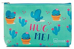 Profumi e cosmetici Beauty case con stampa, turchese - IDC Design Accessories Cosmetig Bag