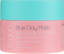 Profumi e cosmetici Maschera con argilla blu - Nacomi Blue Clay Mask Anti-Aging