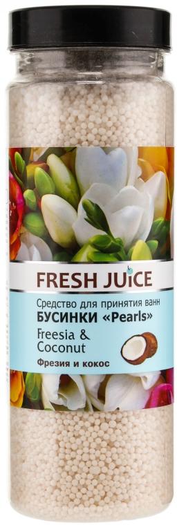 Perle da bagno - Fresh Juice Bath Bijou Rearls Freesia and Coconut