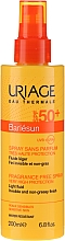 Spray solare per viso e corpo - Uriage Bariesun Spray Sans Parfum SPF50+ — foto N1