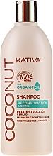 Profumi e cosmetici Shampoo rigenerante per i capelli - Kativa Coconut Shampoo