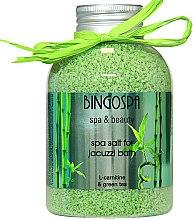 Profumi e cosmetici Sale Jacuzzi, tè verde - BingoSpa
