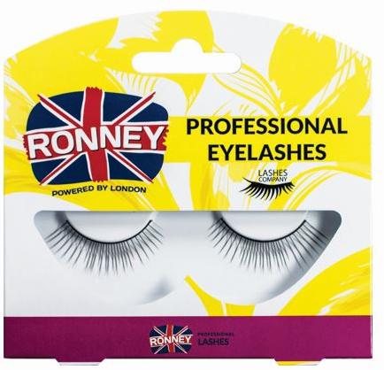 Ciglia finte, sintetiche - Ronney Professional Eyelashes RL00020 — foto N1