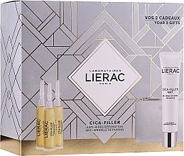 Profumi e cosmetici Set - Lierac Cica-Filler (serum/30ml + cr/gel/40ml + bag)