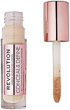 Profumi e cosmetici Concealer viso - Makeup Revolution Conceal and Define Concealer