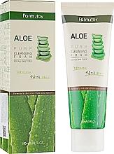 Profumi e cosmetici Schiuma detergente con estratto di aloe - FarmStay Pure Cleansing Foam Aloe