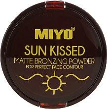 Profumi e cosmetici Cipria abbronzante - Miyo Sun Kissed Matt Bronzing Powder