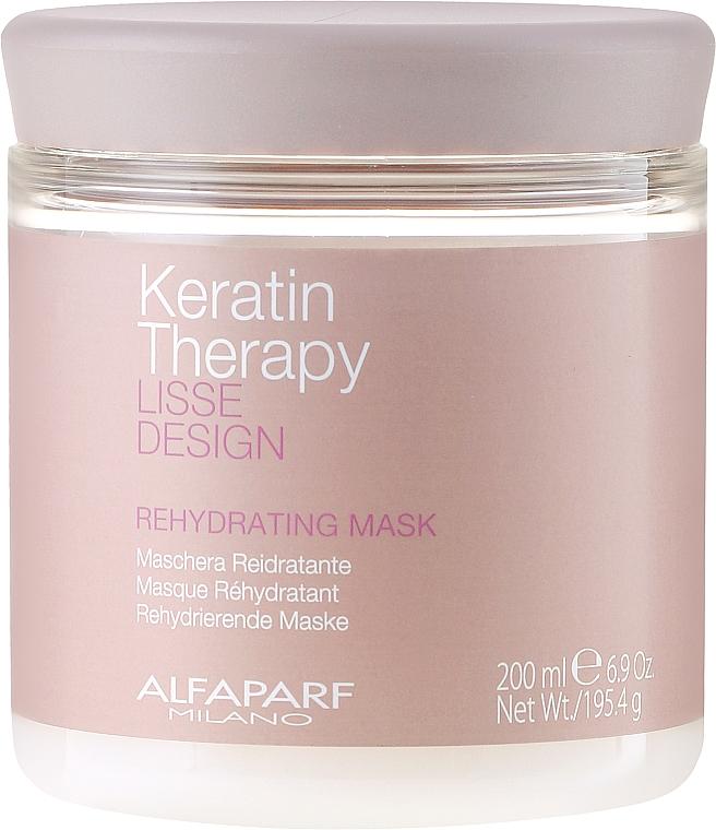 Maschera capelli idratante - Alfaparf Lisse Design Keratin Therapy Rehydrating Mask