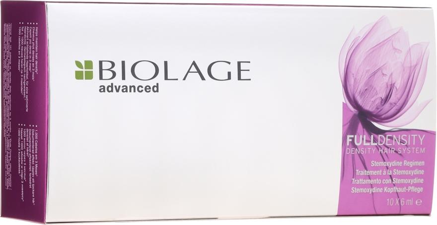 Fiale per attivare la crescita dei capelli - Biolage Full Density Thickening Hair System