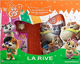 Profumi e cosmetici La Rive 44 Cats - Set (edp/50ml+gel/sh/250ml)