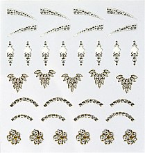 "Profumi e cosmetici Adesivi decorativi per unghie ""Pearl"" - Peggy Sage Decorative Nail Stickers Jewel"