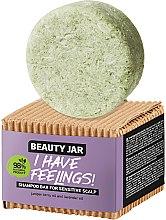 Profumi e cosmetici Shampoo solido con olio di ginepro e lavanda - Beauty Jar I Have Feelings