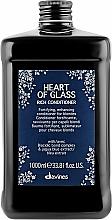 Profumi e cosmetici Condizionante nutriente per capelli biondi - Davines Heart Of Glass Rich Conditioner