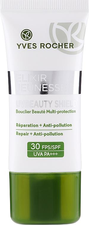 Crema viso protettiva - Yves Rocher Elixir Jeunesse UV Beauty Shield SPF30 — foto N1