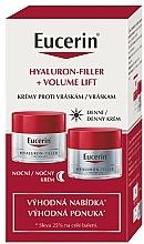 Profumi e cosmetici Set - Eucerin Hyaluron Filler + Volume Lift (cr/2x50ml)