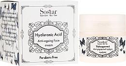Profumi e cosmetici Crema viso con acido ialuronico - Sostar Hyaluronic Acid Anti-Aging Face Cream