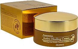 Profumi e cosmetici Crema viso nutriente con bolle di ossigeno attivo - Deoproce Fermentation Active Healing Cream