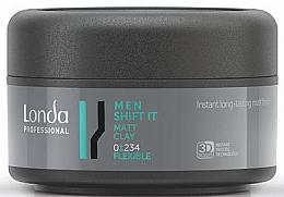 Profumi e cosmetici Argilla per capelli, per uomo - Londa Professional Men Shift It Matt Clay