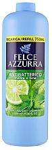 Profumi e cosmetici Sapone liquido - Felce Azzurra Antibacterial Mint & Lime (ricarica)