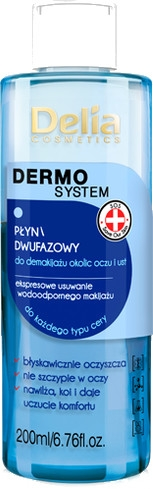 Struccante bifasico - Delia Dermo System The Two-phase Liquid Makeup Remover
