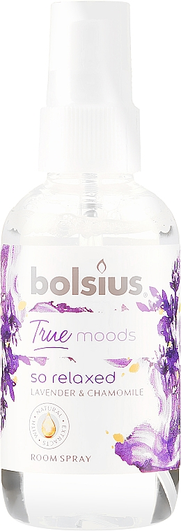 """Spray profumato """"Lavanda e camomilla"""" - Bolsius Room Spray True Moods So Relaxed"""