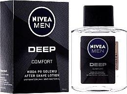 Profumi e cosmetici Lozione dopobarba antibatterica - Nivea Men Deep Comfort After Shave Lotion