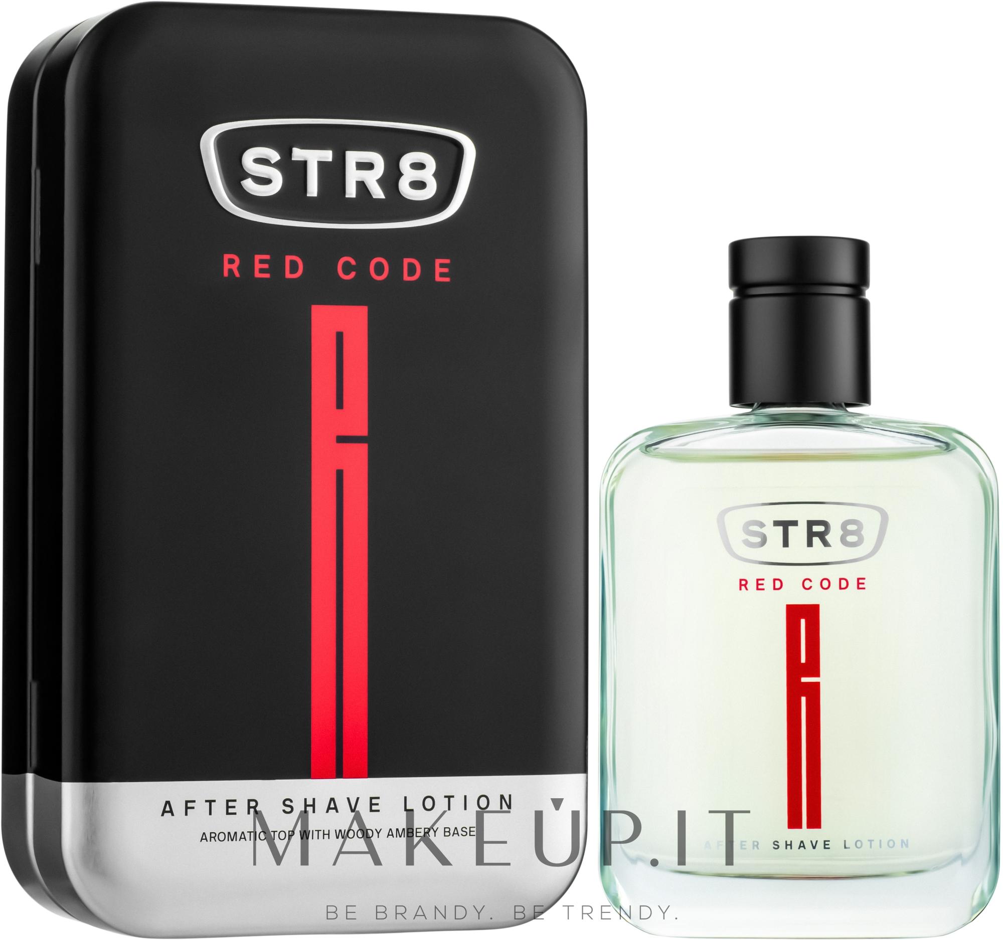 STR8 Red Code - Lozione dopobarba — foto 100 ml