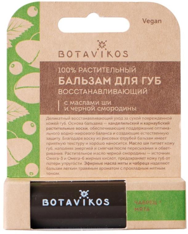 Balsamo labbra rigenerante - Botavikos Regenerating Lip Balm — foto N1