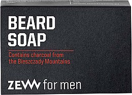 Profumi e cosmetici Sapone solido da barba - Zew For Men Natural Beard Soap