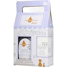 Profumi e cosmetici Set - NeBiolina Baby Gift Set II (body/hair/fluid/500ml+oil/100ml)
