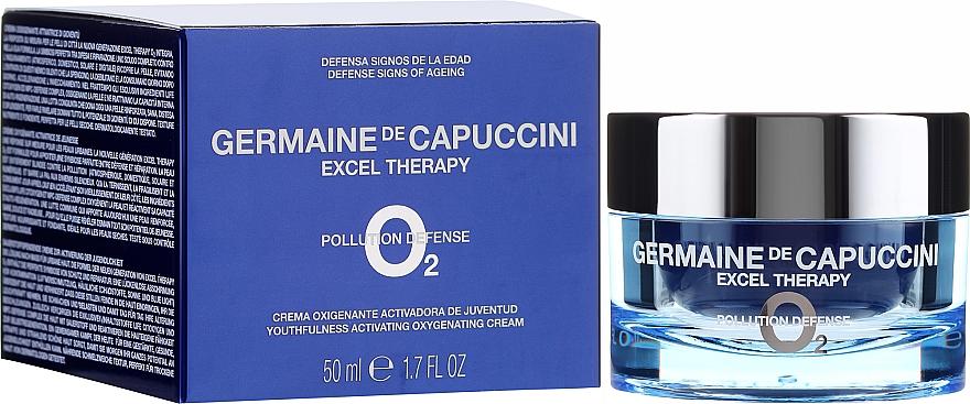 Crema viso rigenerante - Germaine de Capuccini Excel Therapy O? Pollution Defence Youth.Activating Oxygenating Cream — foto N1