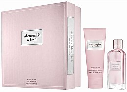 Profumi e cosmetici Abercrombie & Fitch First Instinct - Set (edp/50ML + b/l100ML)