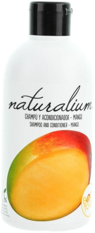 """Shampoo condizionante 2 in 1 """"Mango"""" - Naturalium Shampoo And Conditioner Mango — foto N1"""