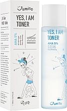 Profumi e cosmetici Tonico viso - HelloSkin Jumiso Yes I Am Toner AHA 5%