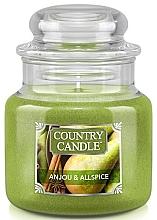Profumi e cosmetici Candela profumata in barattolo - Country Candle Anjou & Allspice