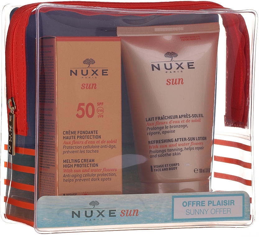 Set - Nuxe Sun Set Summer Protection Ritual (cr/50ml + lot/100ml)