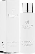 Profumi e cosmetici Tonico viso nutriente - Herla Infinite White Nutritive Brightening Face Tonico