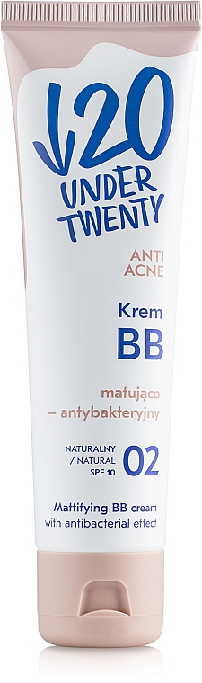 BB-crema opacizzante antibatterica - Under Twenty Anti Acne Matting Cream