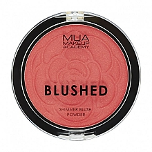 Profumi e cosmetici Blush - MUA Blushed Shimmer Blush Powder