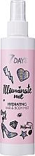 Profumi e cosmetici Spray idratante per capelli e corpo - 7 Days Illuminate Me Hydrating Hair & Body Mist