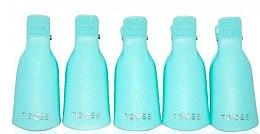 Profumi e cosmetici Clip per smalto gel, blu - Neess