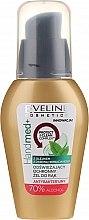 Profumi e cosmetici Gel mani antibatterico con olio dell'albero del tè, alcool al 70% - Eveline Cosmetics Handmed+, 70% Alcohol