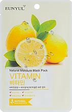 Profumi e cosmetici Mischera viso vitaminica - Eunyul Natural Moisture Mask Pack Vitamin