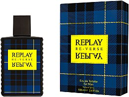Profumi e cosmetici Replay Signature Re-verse For Men - Eau de toilette