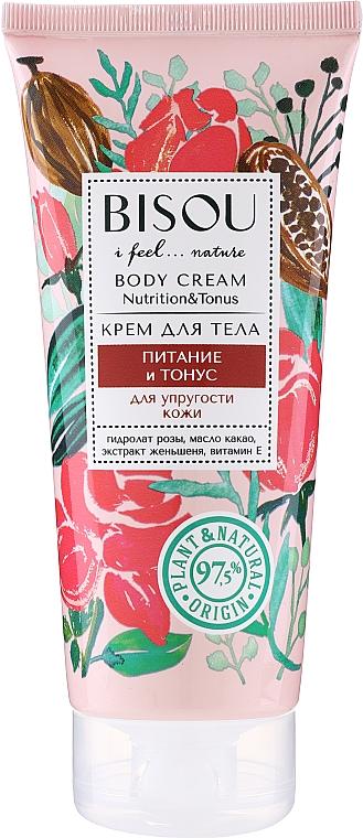 """Crema corpo """"Nutrizione e Tonus"""" - Bisou Rose&Cacao Body Cream"""