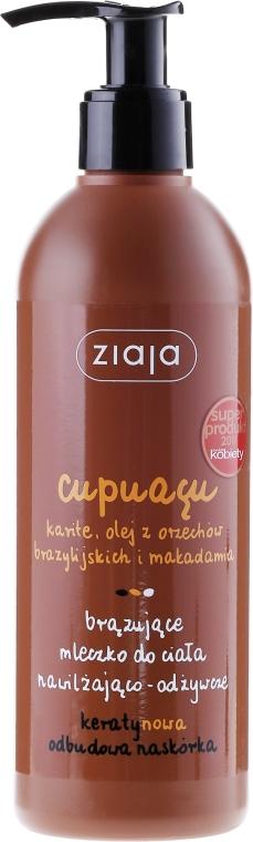 Latte corpo abbronzante idratante e nutriente - Ziaja Bronzing Body Milk