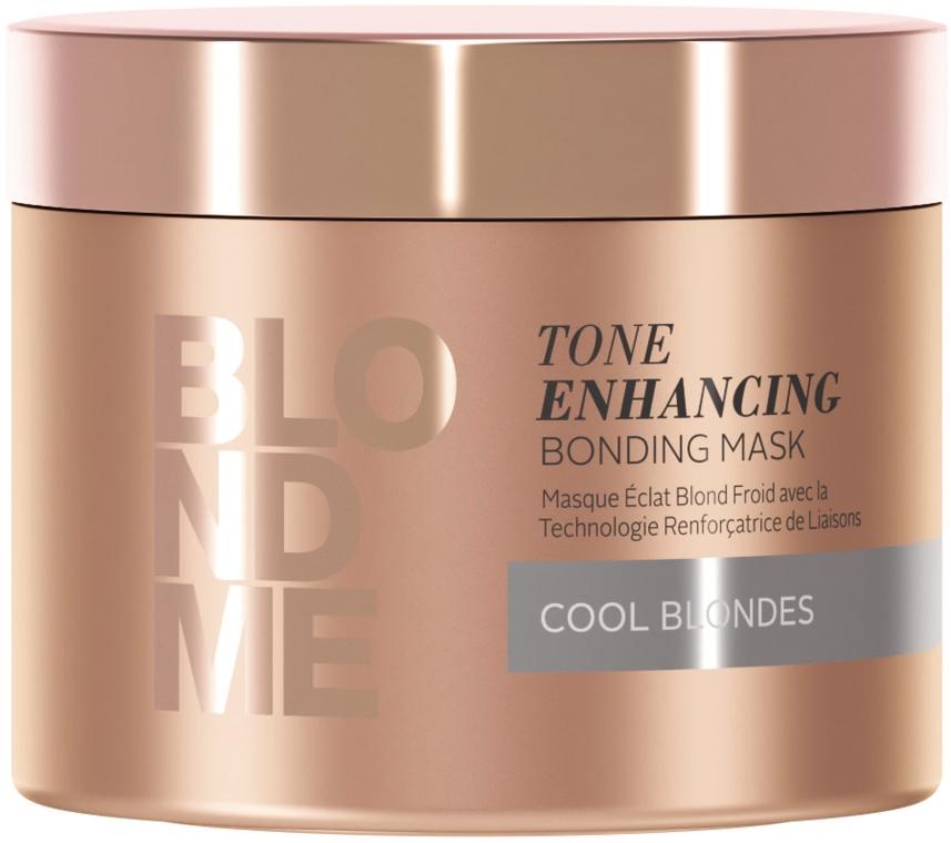Maschera-bonding per tonalità bionde freddi - Schwarzkopf Professional BlondMe Tone Enhancing Bonding Mask