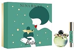 Profumi e cosmetici Nina Ricci Bella - Set (edt/80ml + lipstick)