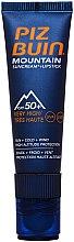 Profumi e cosmetici Crema solare labbra - Piz Buin Mountain Suncream + Lipstick SPF50