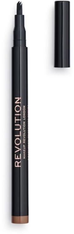 Matita sopracciglia - Makeup Revolution Micro Brow Pen
